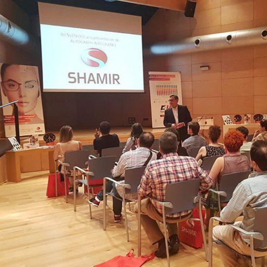 Shamir evento Bilbao