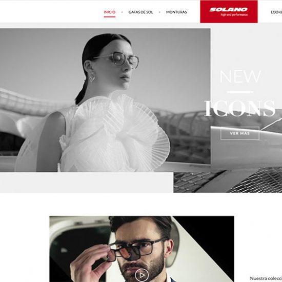 Nueva web marca Solano