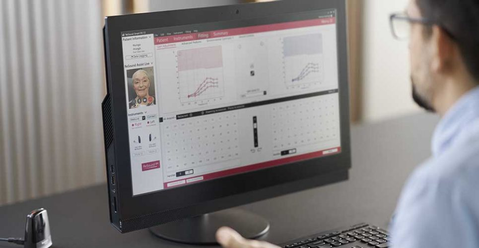 ReSound Assist Live. Fitting Software. FSW. HCP. Hearing Care Professional