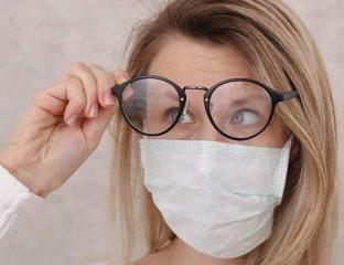 Mujer-con-gafas-y-mascarilla